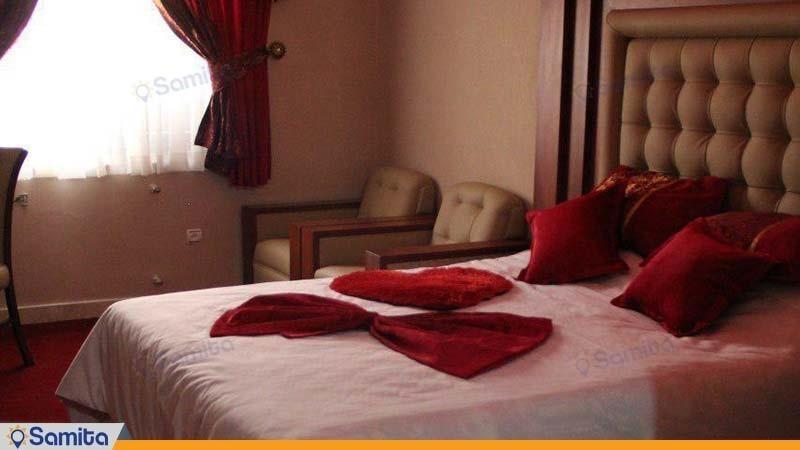 غرفة مزدوجة فندق بارسه شيراز
