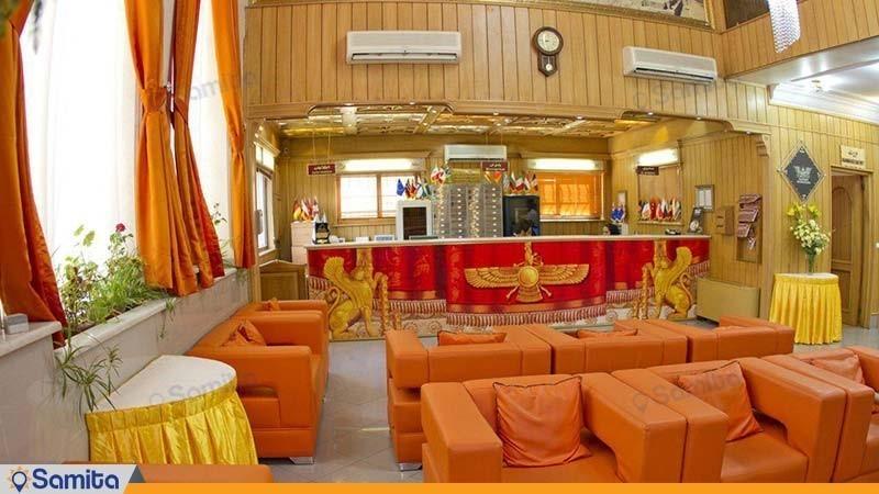 لابی هتل پاسه شیراز