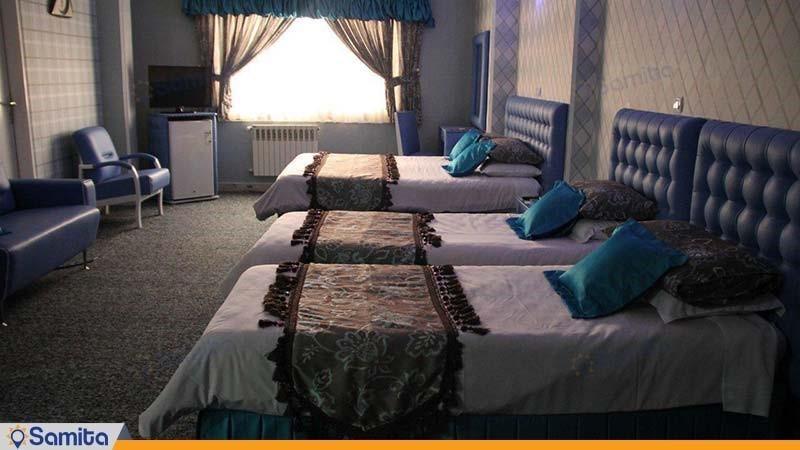 اتاق چهار نفره هتل پاسه شیراز