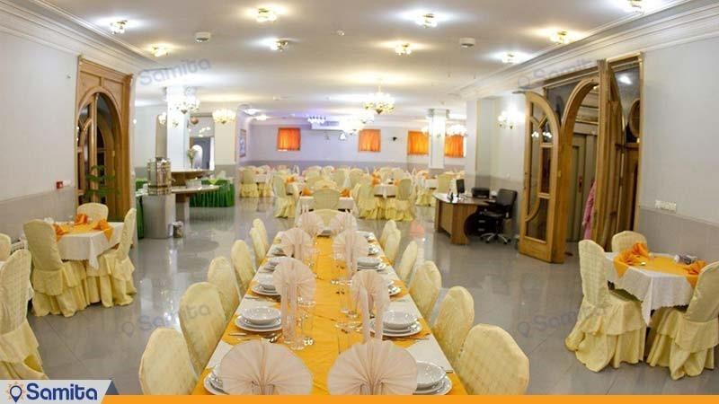 مطعم فندق بارسه شيراز