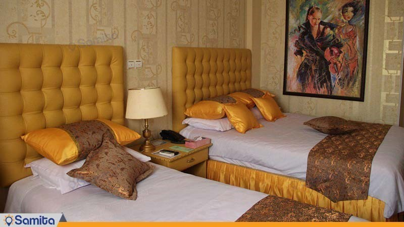 اتاق سه نفره هتل پاسه شیراز
