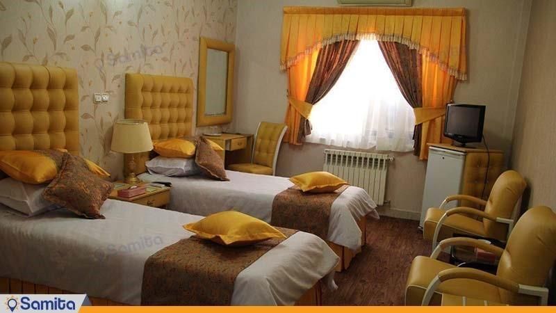 غرفة التوأم فندق بارسه شيراز