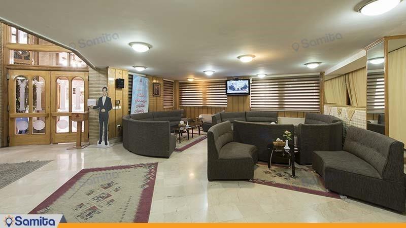 لابی هتل پارسیان شیراز