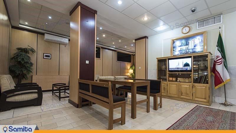 لابی هتل ساسان شیراز