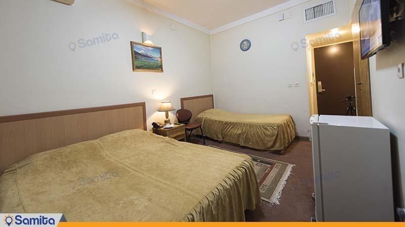 اتاق سه تخته هتل ساسان شیراز