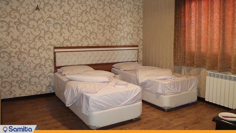 اتاق دو تخته هتل عطر سیب