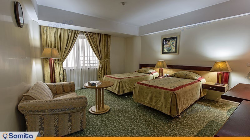 اتاق دو تخته توئین هتل پارس ائل گلی