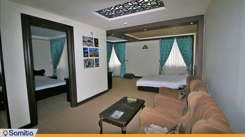 اتاق چهار نفره هتل بین المللی گسترش