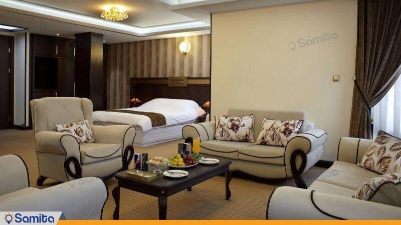 سوئیت vip چهار تخته هتل بین المللی گسترش