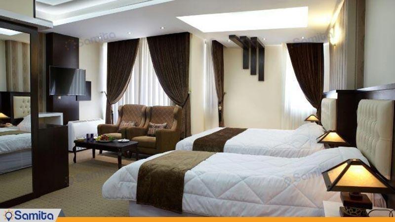 اتاق سه تخته هتل بین المللی گسترش