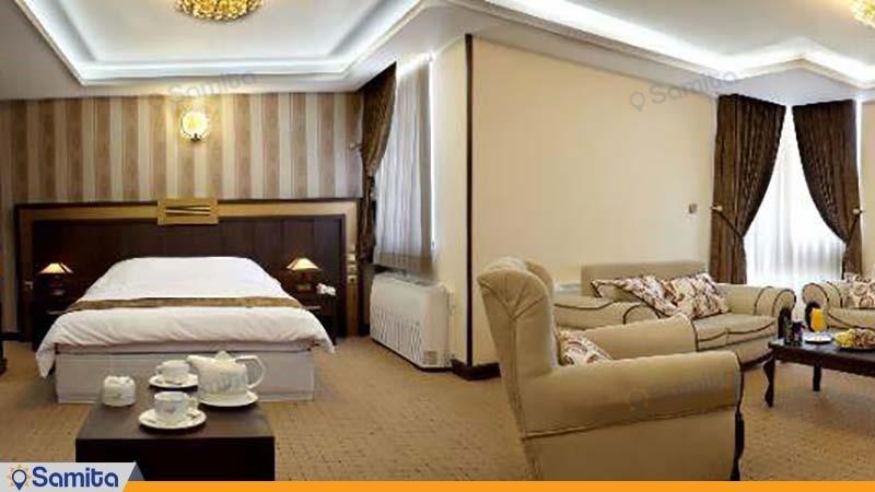 اتاق پنج نفره vip هتل بین المللی گسترش