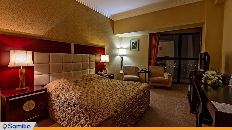 اتاق دبل هتل بین المللی شهریار