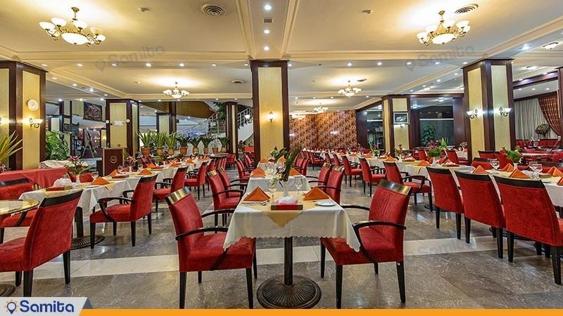 رستوران هتل بین المللی شهریار
