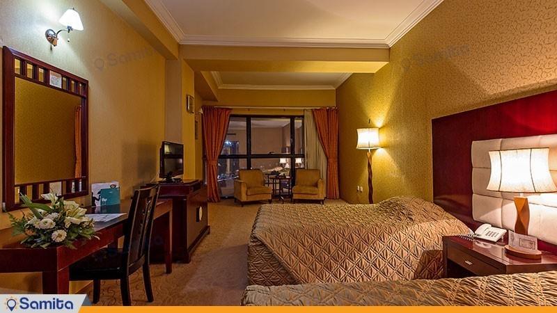 اتاق دو تخته هتل بین المللی شهریار