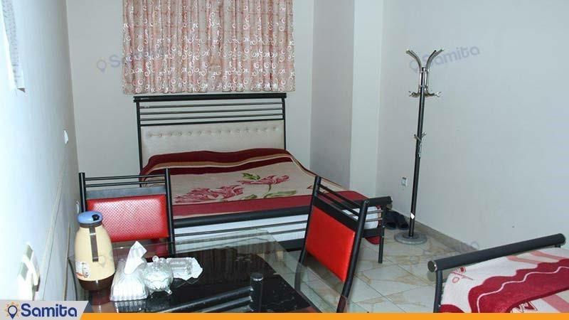 سوئیت دو خوابه شش نفره هتل آپارتمان زیبا