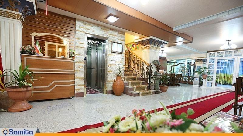لابی هتل آپارتمان راستین