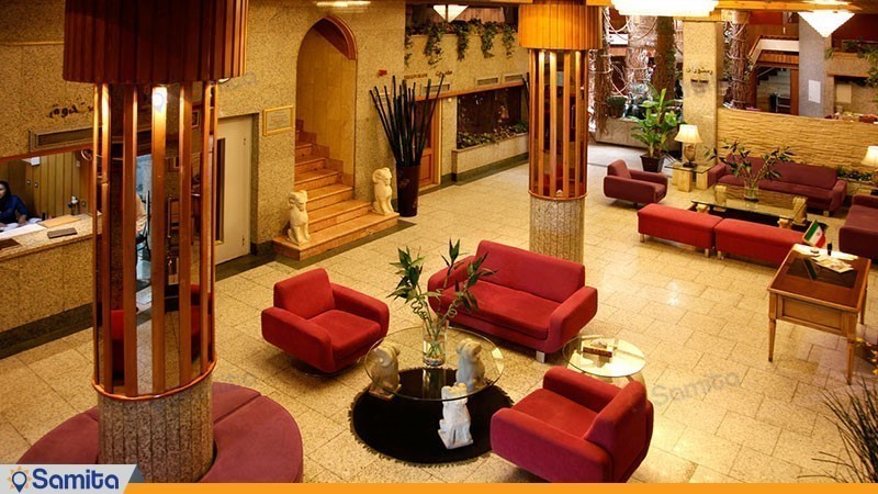 Tehran Amir Hotel Lobby