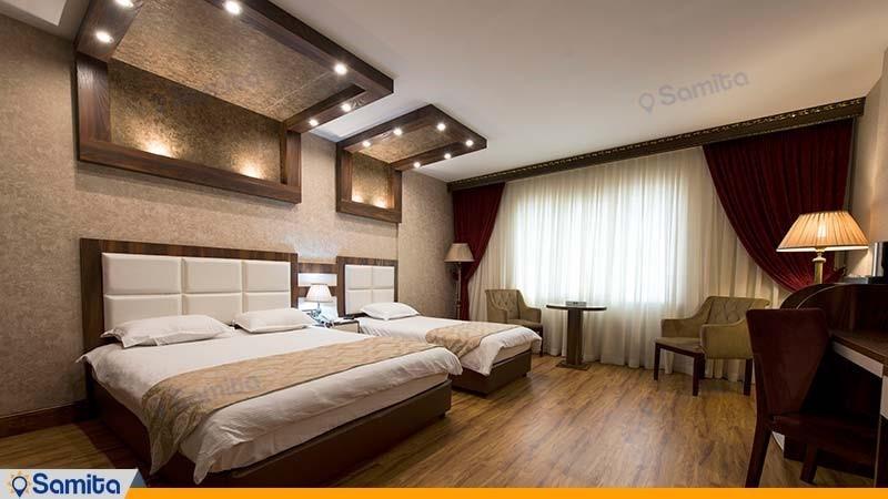 اتاق سه تخته هتل بین المللی بوتیک آرامیس