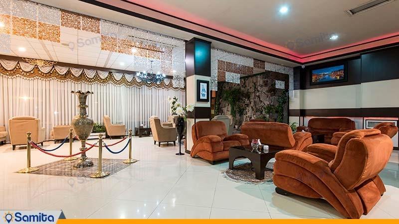 لابی هتل آساره