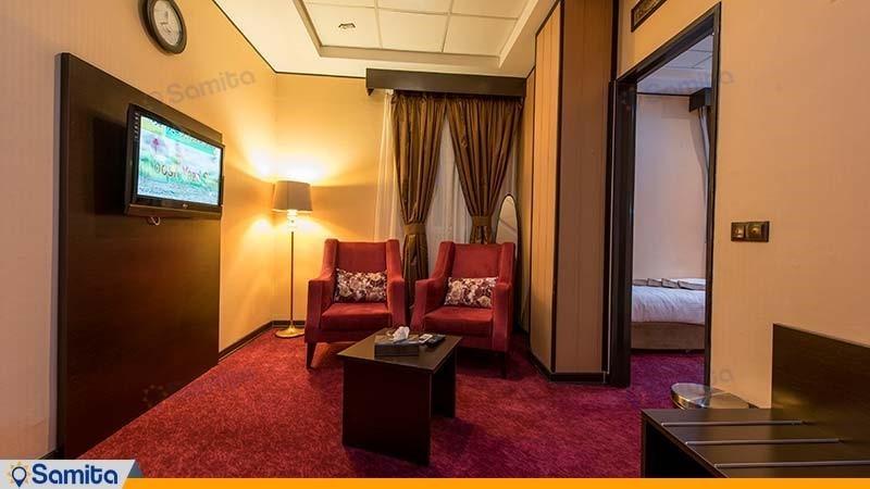 سوئیت یک خوابه هتل آساره