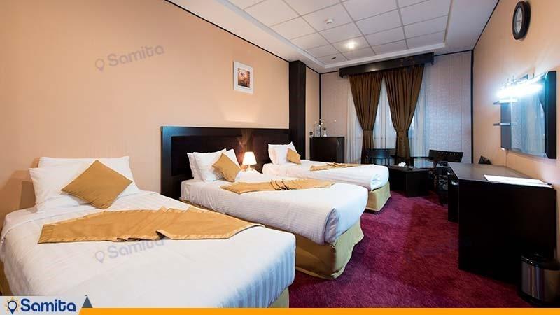 اتاق سه تخته هتل آساره