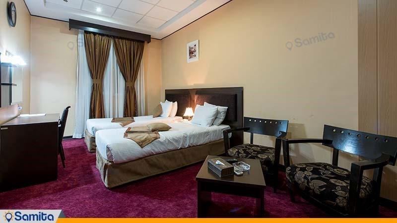 اتاق دو تخته هتل آساره