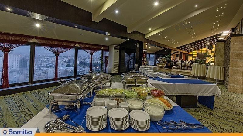 رستوران هتل اسپیناس خلیج فارس