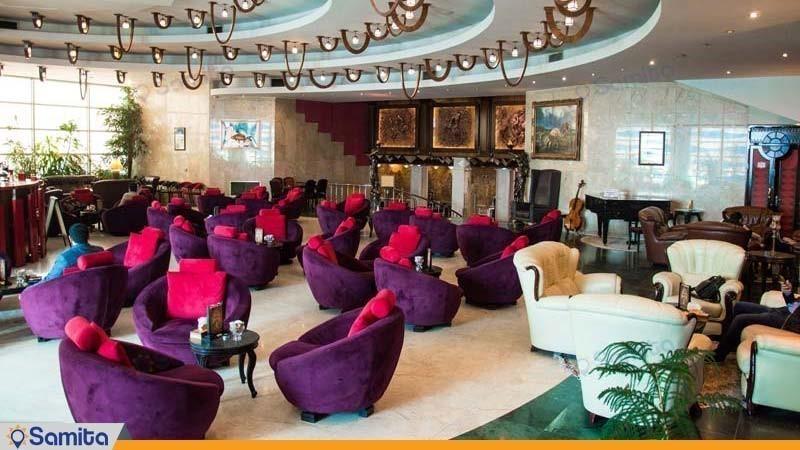 كوفي شوب فندق الكبير فردوسي طهران