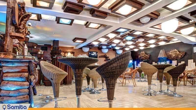 صالة الوجبات السريعة فندق الكبير فردوسي طهران