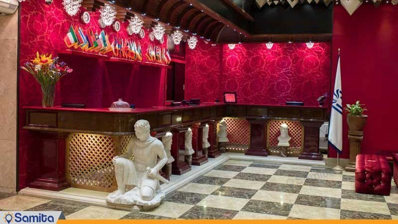 پذیرش هتل بزرگ فردوسی تهران