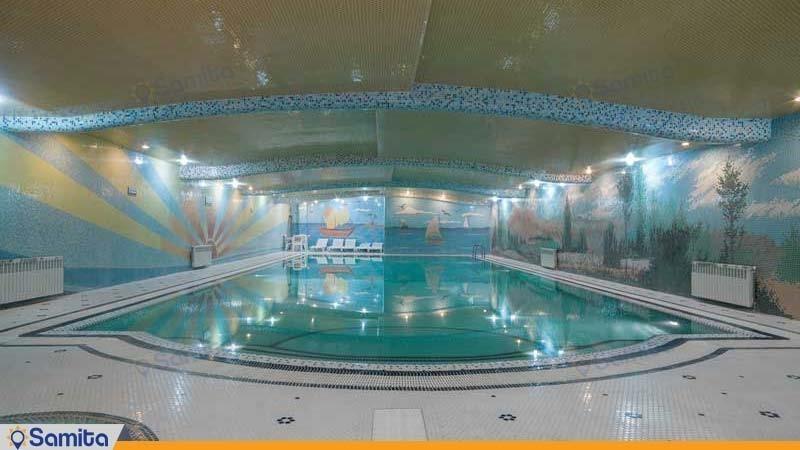 استخر هتل بزرگ فردوسی تهران