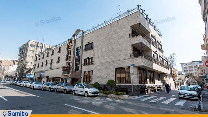 نمای ساختمان هتل ایرانشهر
