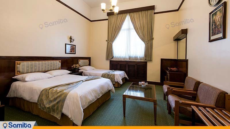 اتاق سه نفره هتل ایرانشهر