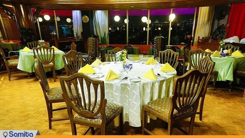 رستوران تیاره هتل لاله تهران