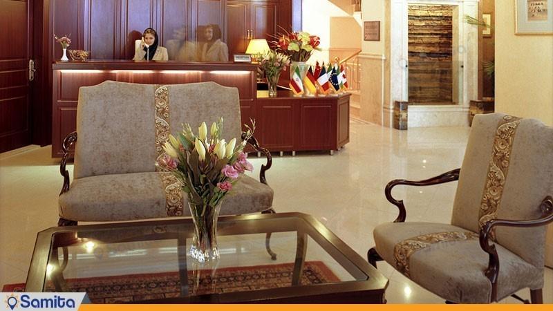 پذیرش هتل آپارتمان مدیا