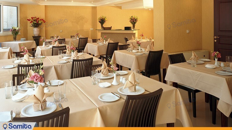 رستوران هتل آپارتمان مدیا