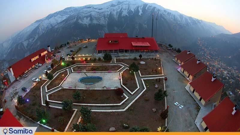 نمای ساختمان هتل جهانگردی میگون