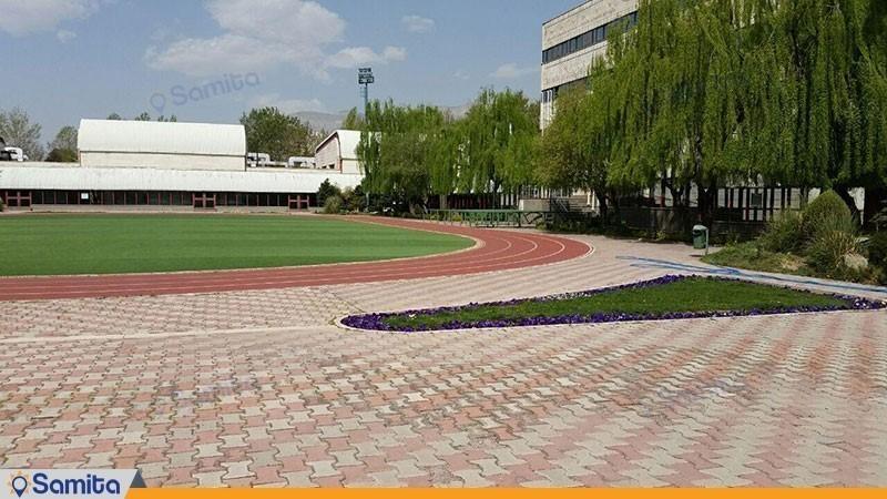 زمین ورزشی هتل آکادمی ملی المپیک