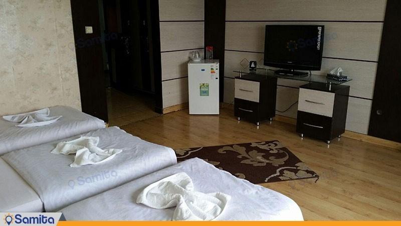 اتاق سه تخته هتل آکادمی ملی المپیک