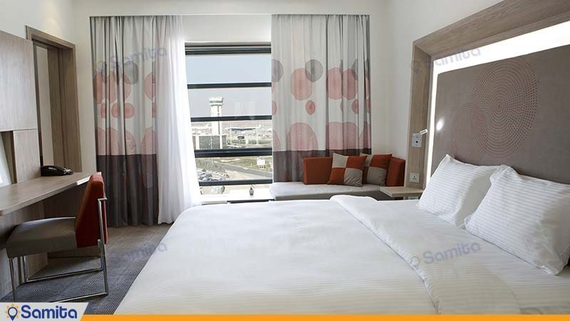 غرفة مزدوجة فندق نوفوتيل