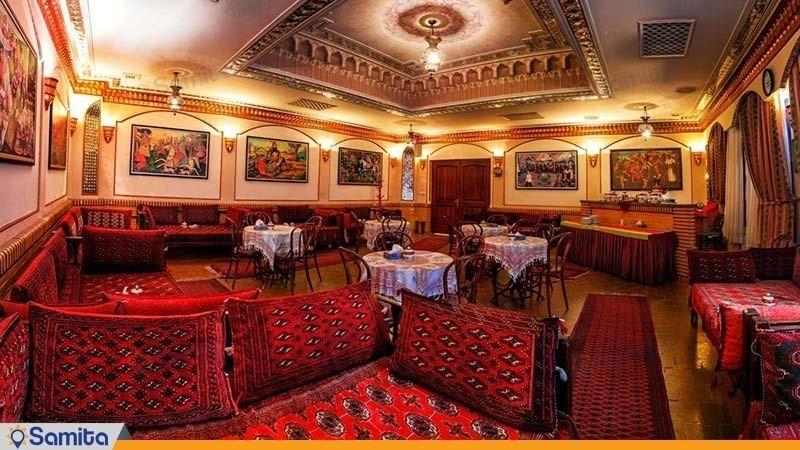 چایخانه سنتی هتل المپیک تهران
