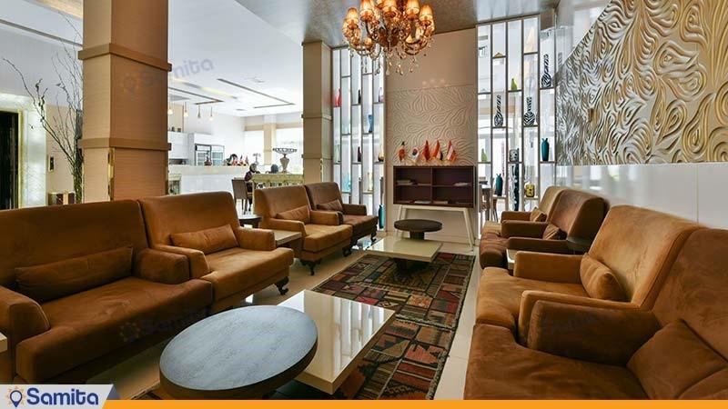 لابی هتل پامچال تهران