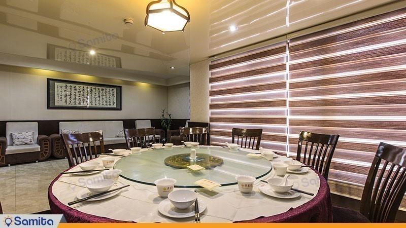 مطعم صيني فندق بارسيان اوين طهران