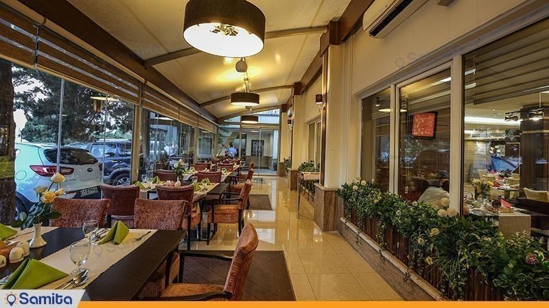 مطعم فندق بارسيان اوين طهران