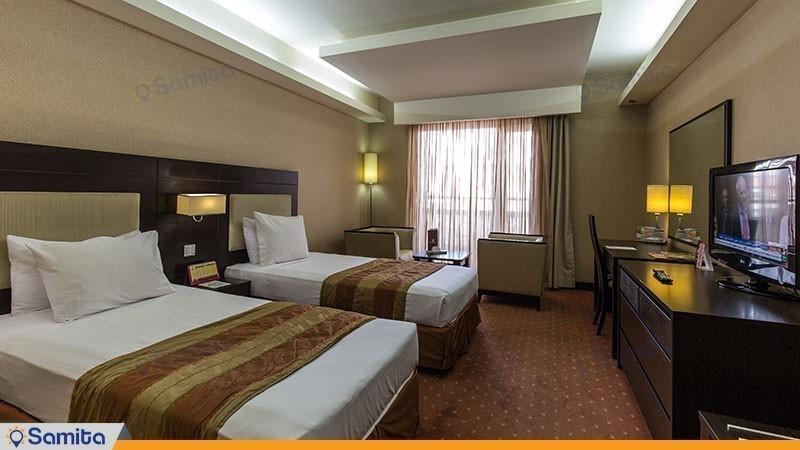 غرفة التوأم فندق بارسيان اوين طهران