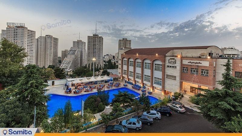واجهة فندق بارسيان اوين طهران