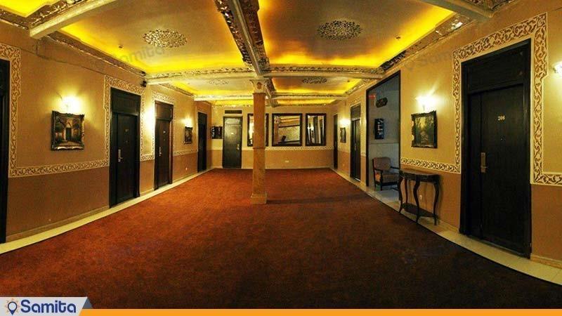 ممر فندق بارسيان كوثر طهران