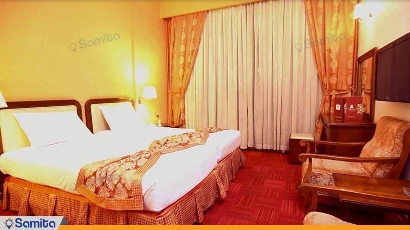 غرفة مزدوجة فندق بارسيان كوثر طهران