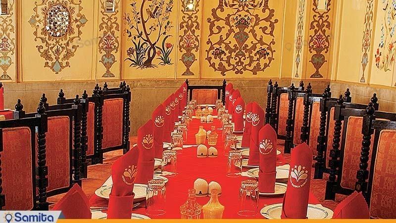 مطعم زند فندق بارسيان كوثر طهران