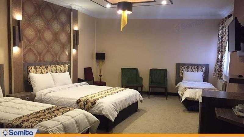 اتاق پنج نفره هتل شهریار